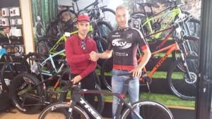 Team Go Fast Andrea Di GIuseppe con il neo acquisto Davide Aufiero