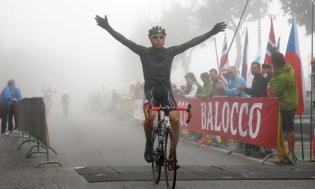 Matteo BORDIGNON-Vincitore Granfondo 2015