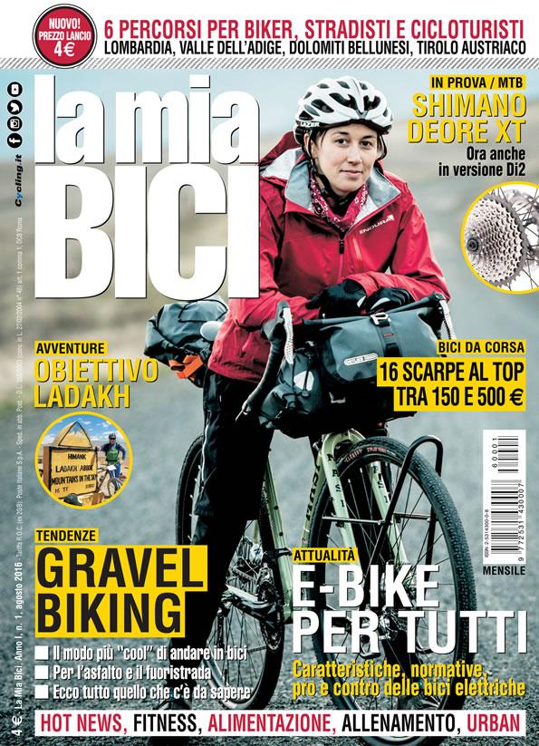 """spesso E' in edicola """"La mia Bici"""" la nuova rivista per appassionati di  BB09"""