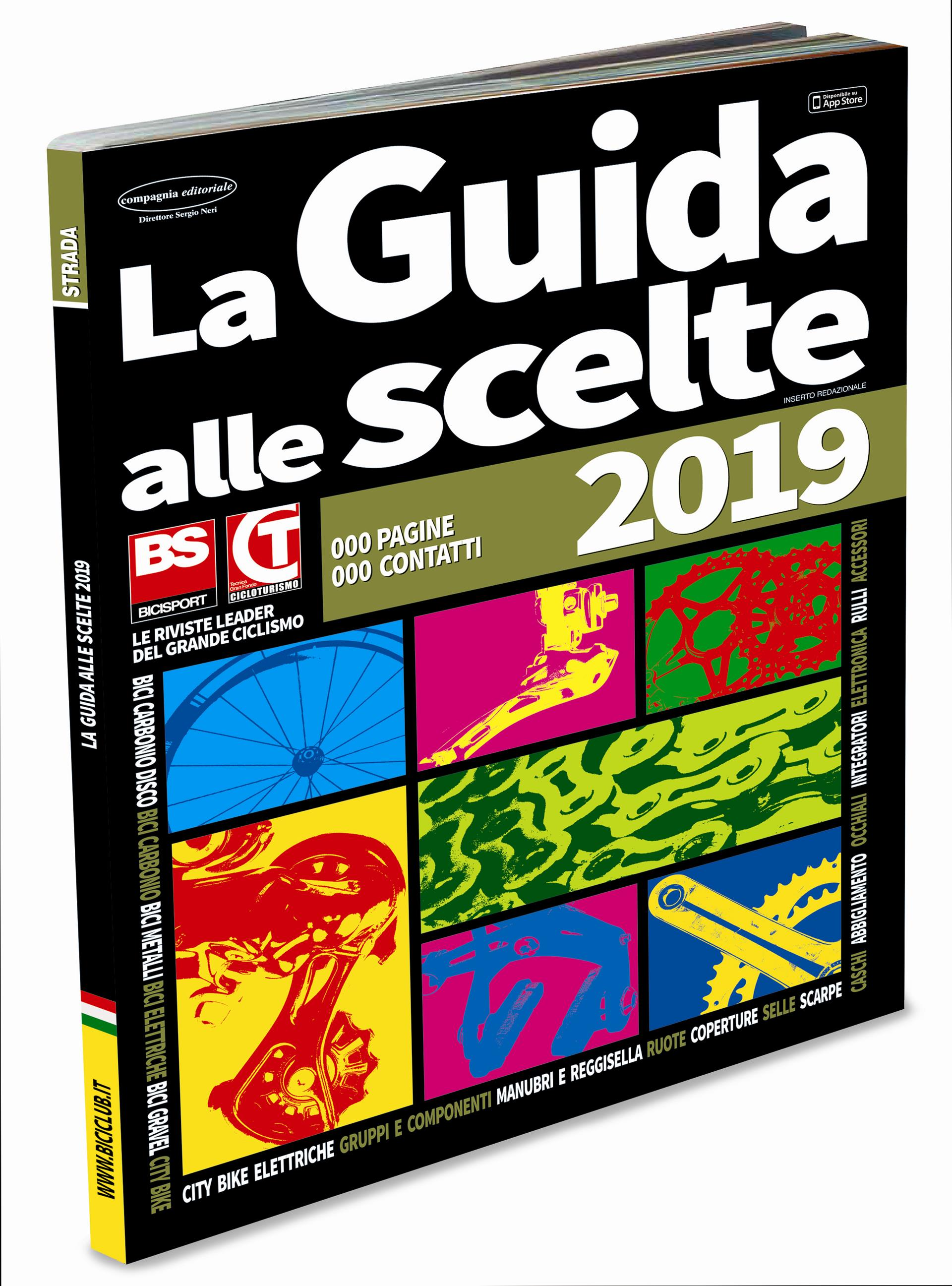 """In arrivo gli Speciali cataloghi """"Guida alle Scelte 2019"""" di Bicisport be868095634"""