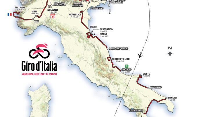 Da Budapest a Milano, ecco il 103° Giro d'Italia